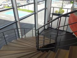 escalier du restaurant