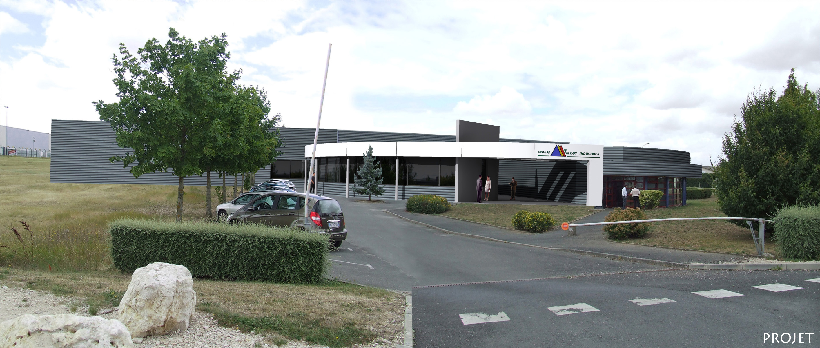 usine Talbot