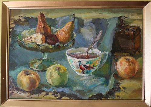 Famous Belorussian Artist Korobushkin (1932-2015) Original Oil painting on board