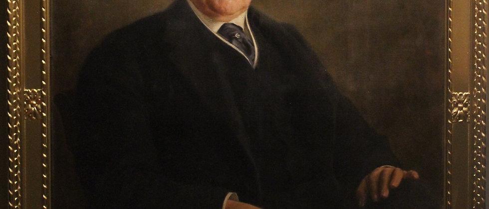 Famous German Artist Fedor Encke (1851-1936) Huge Antique oil painting on canvas