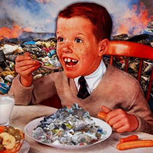 FEED THE KIDS TRASH