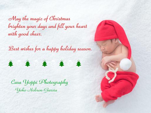 Happy Holidays! 素敵なクリスマスを!