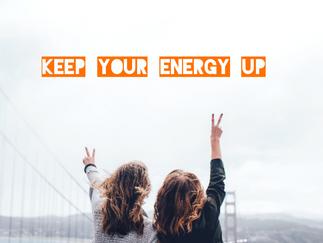Keep your energy up - 5 Tipps gegen trübe Stimmung und Herbstblues
