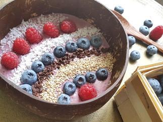 Smoothie Bowl - vegan & ayurvedisch inspiriert