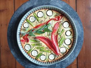 Mungobohnen Tarte - Ayurveda Rezept vegan & glutenfrei