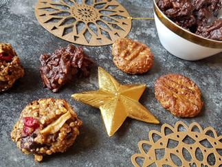 Gesunde Verführung - Weihnachtsplätzchen mit wenig Zucker & vegan