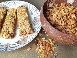 Crunchy Granola & Müsliriegel selbst gemacht