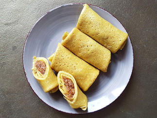 Coconut Pancakes mit Kardamom und Vanille