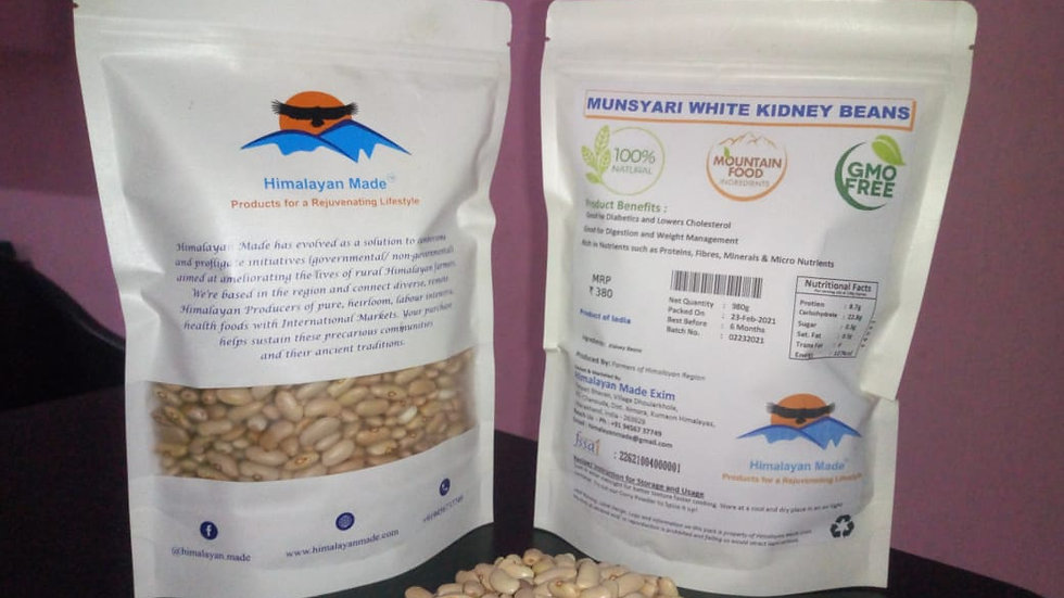 Munsyari White Kidney Beans