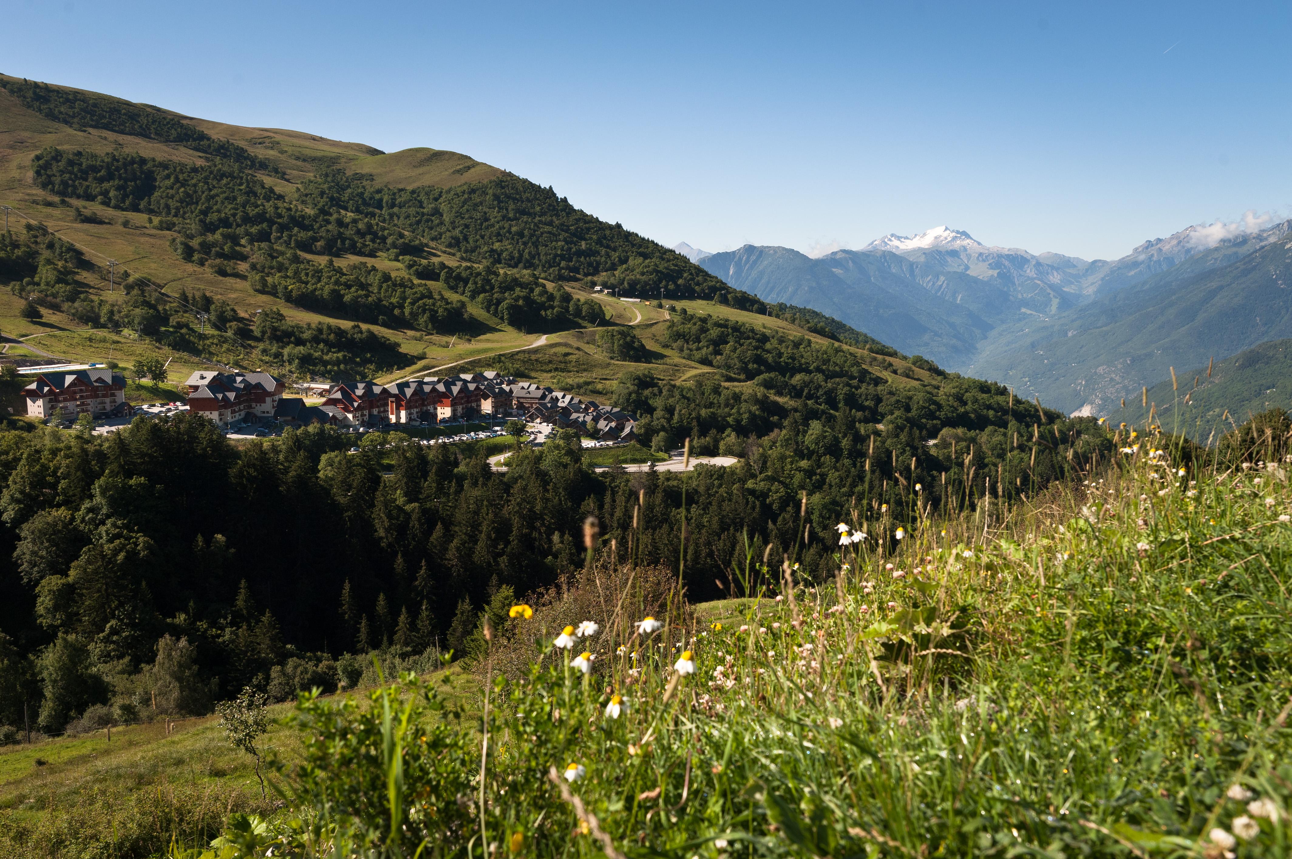 Stationner à la montagne