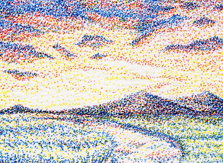 Pointillism 101 - The Primary Colors