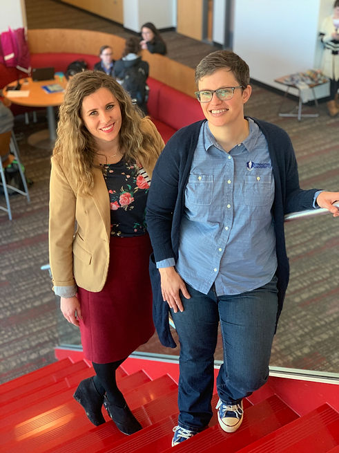 Cofounders of Strengths University, Alicia Wojciuch, the Chief Education Officer, and Anne Brackett, the Chief Engagement Officer.