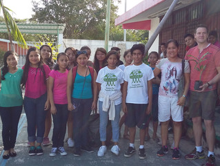 School reforestation activity