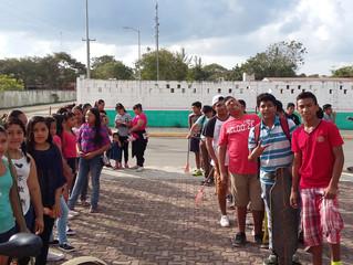 Community Service at Puerto Aventuras...