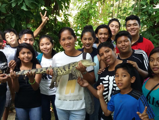 Interesting visit at Crococun Zoo