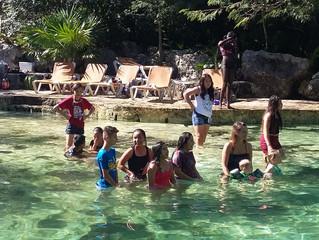 Time for Yax-Kin Cenote