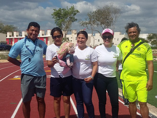 Sports Event organized by Yantra president in PA, Selene Macipand Miss Monica Bargas director of Co