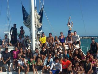 Exciting tour at the Catamaran