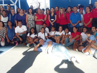 """Empoweringour Youth students arenow volunteers of Yantra Foundation and part of """"Jovenes en S"""