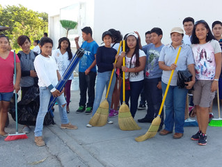 Involving community participation in street cleaning