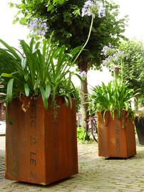 plantenbakken cortenstaal
