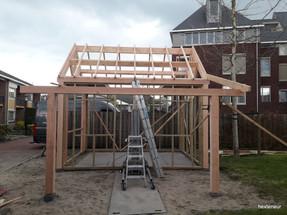 bouw tuinschuur