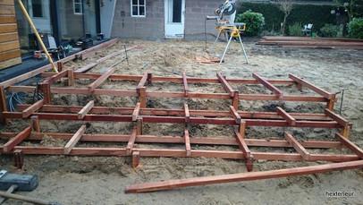 trapconstructie hardhout