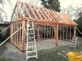 bouw kapschuur