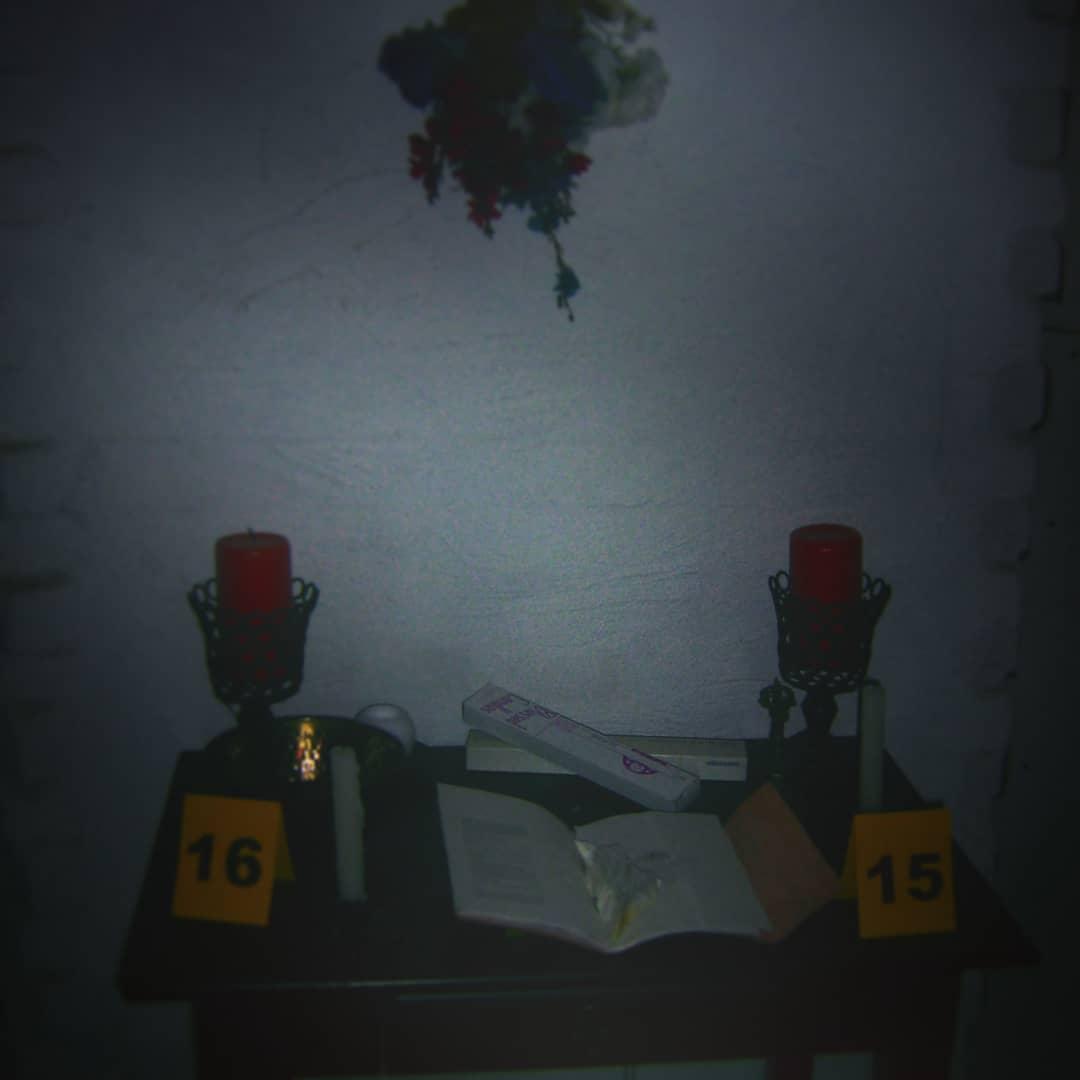 Altar Evidence - Slate 15