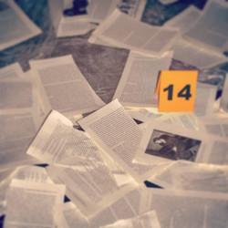 Torn Book Evidence - Slate 14
