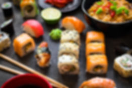 bigstock-Table-Served-With-Sushi-And-Tr-