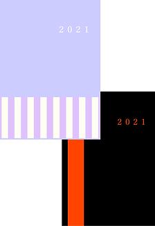 自分暦2021年 製本版