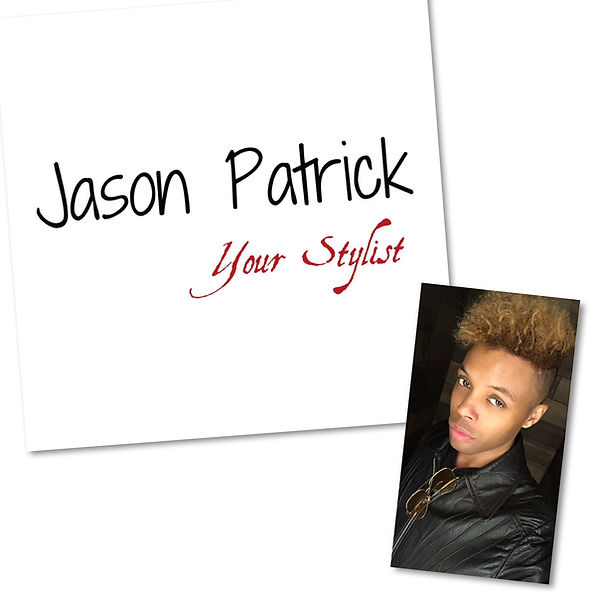Jason Patrick Your Stylist Website Logo.