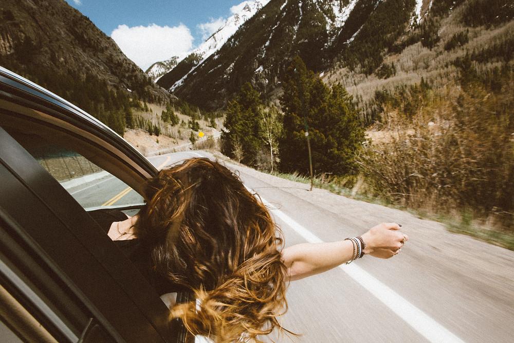 woman mountains life coaching