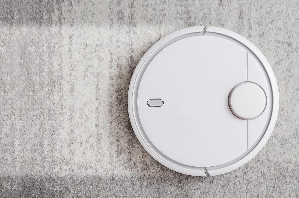robot vacuum is like meditating