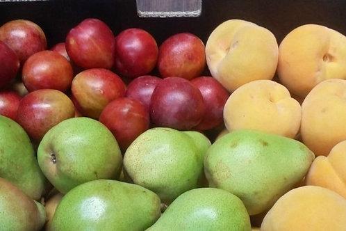 Mixed box of seasonal fruit