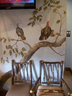 Wild Life Mural -- Children's Dentist Office