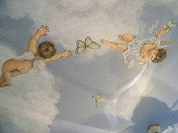 Angelic Ceiling Detail