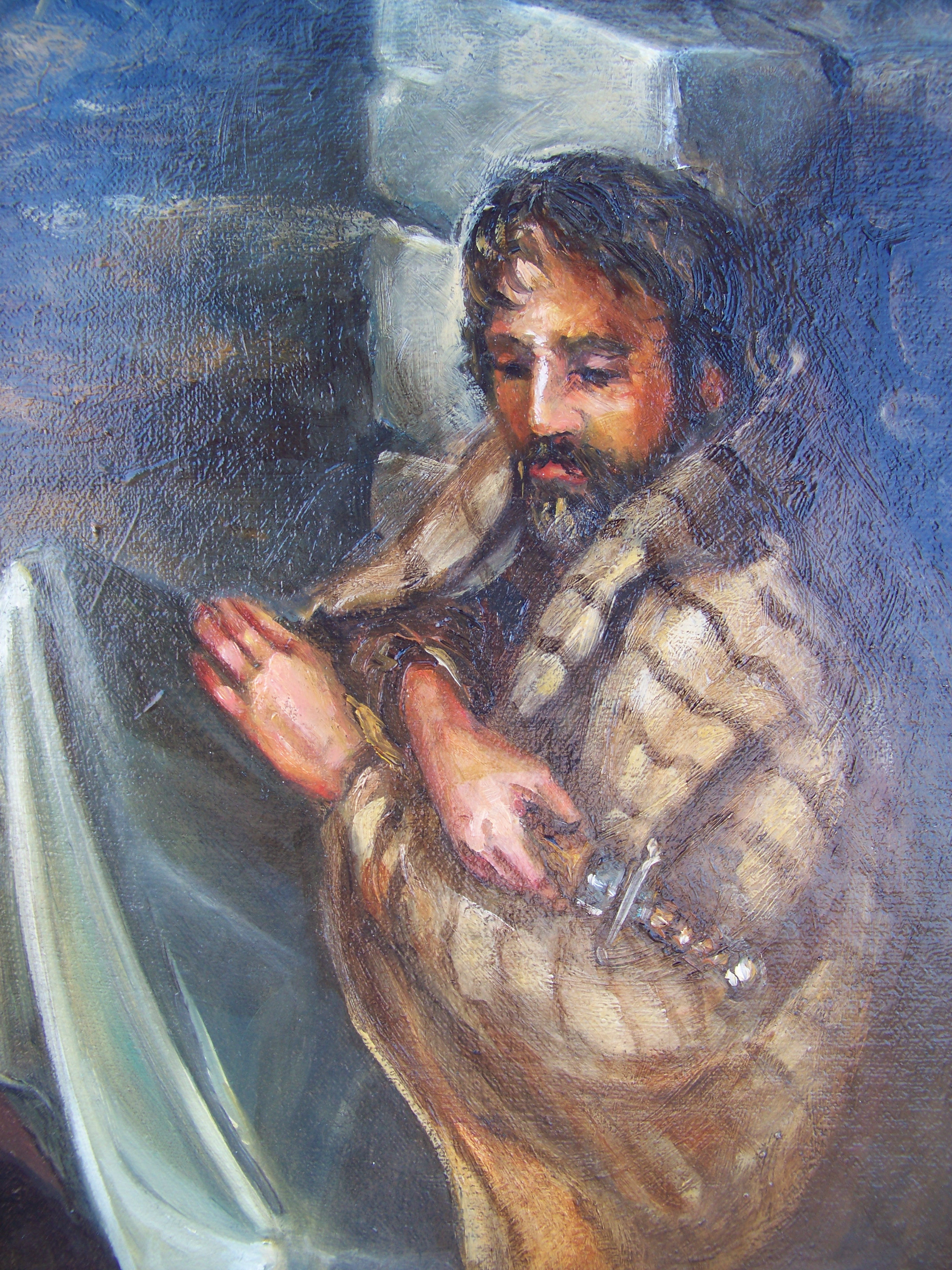Gethsemane Detail