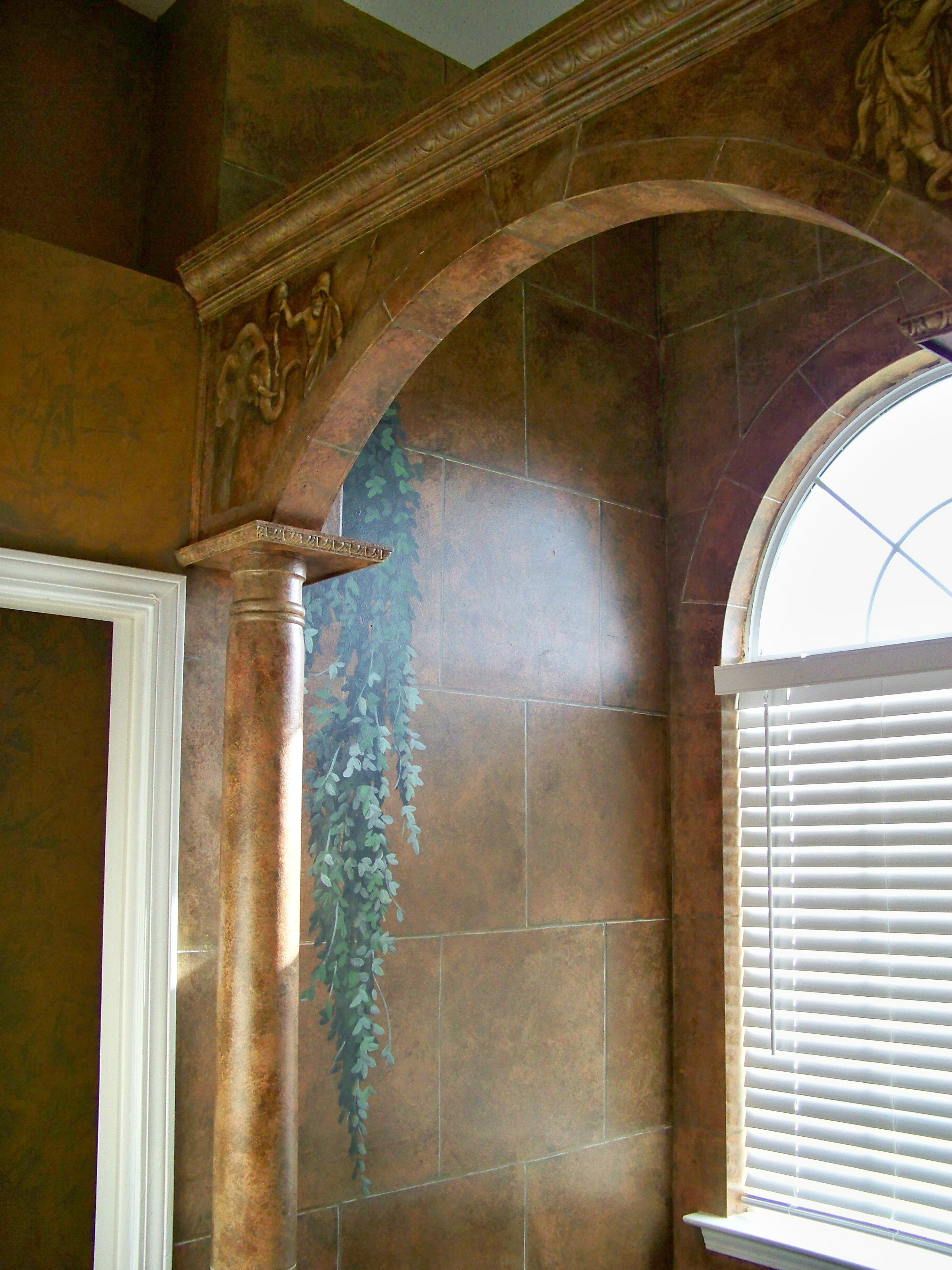 Faux Stone Relief