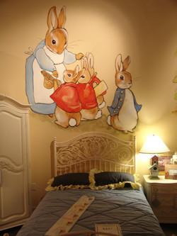 Peter Rabbit Children's Mural