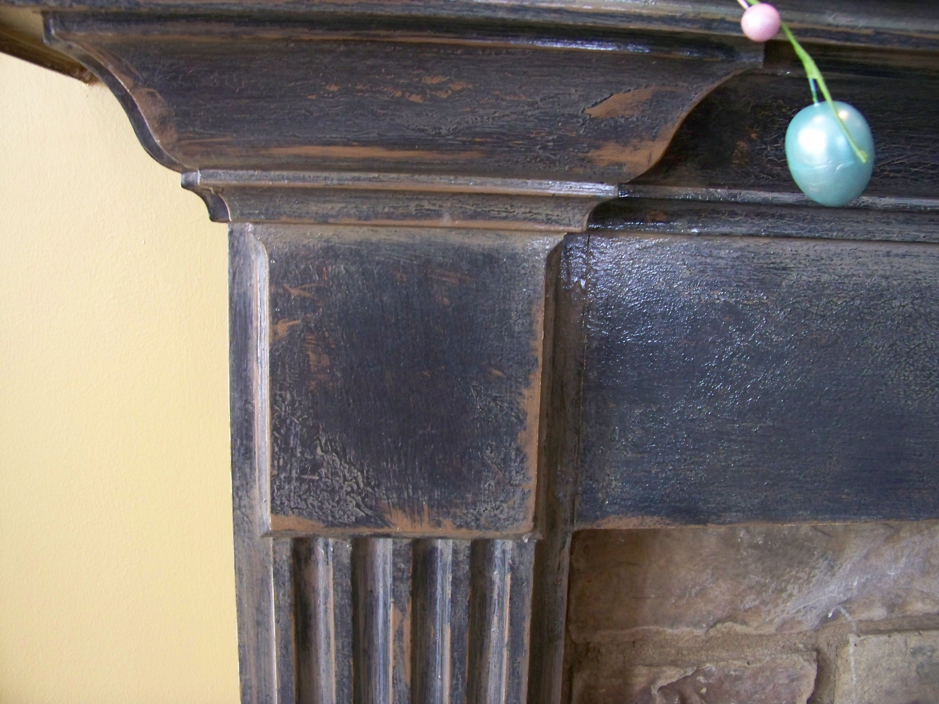 Aged Mantle Detail