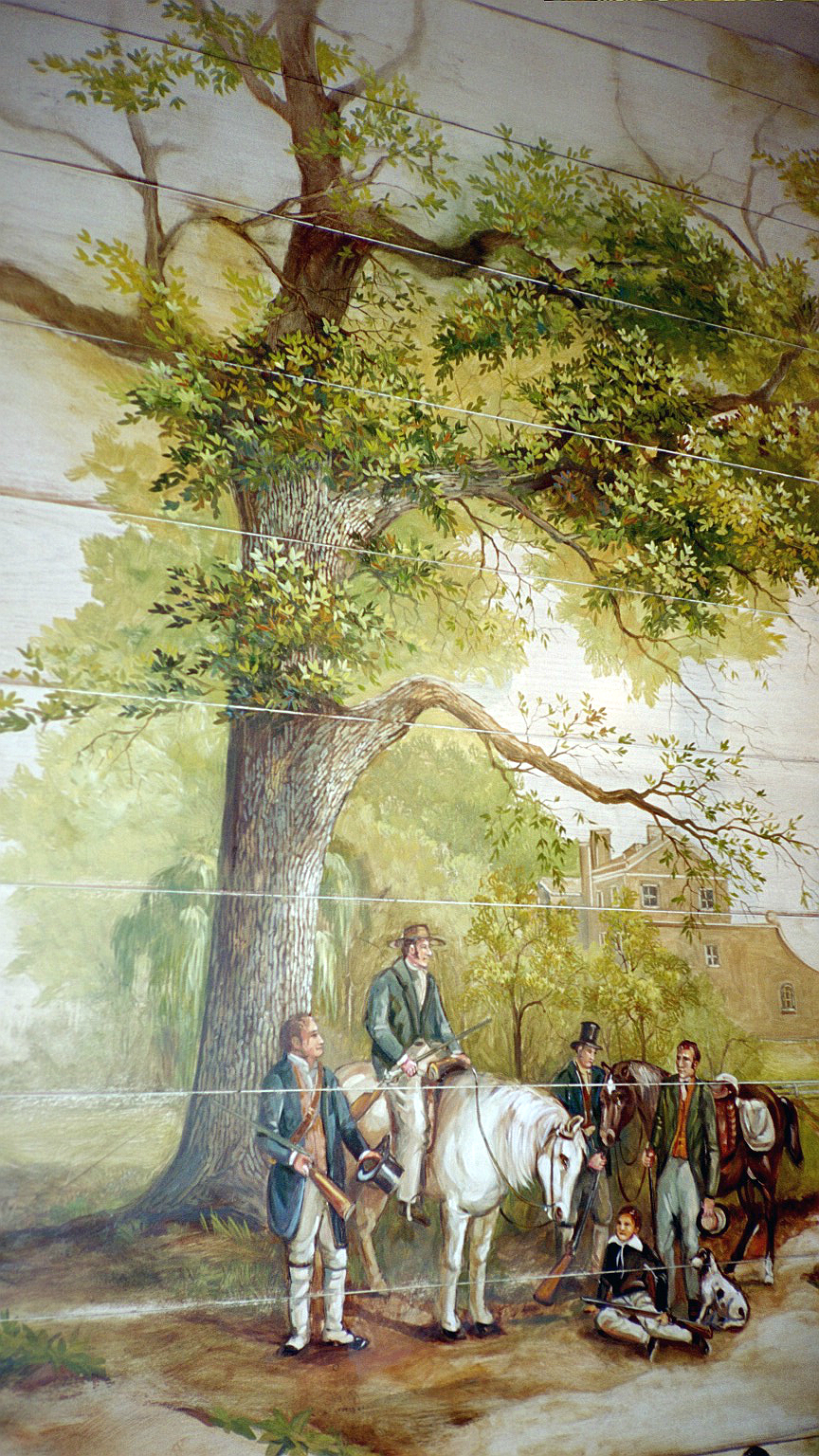 English Country Mural