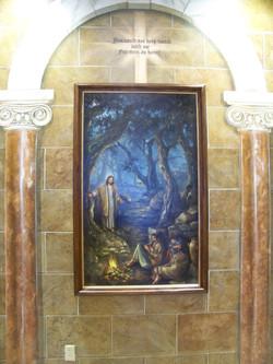 Gethsemane, Faux Arches & Stone