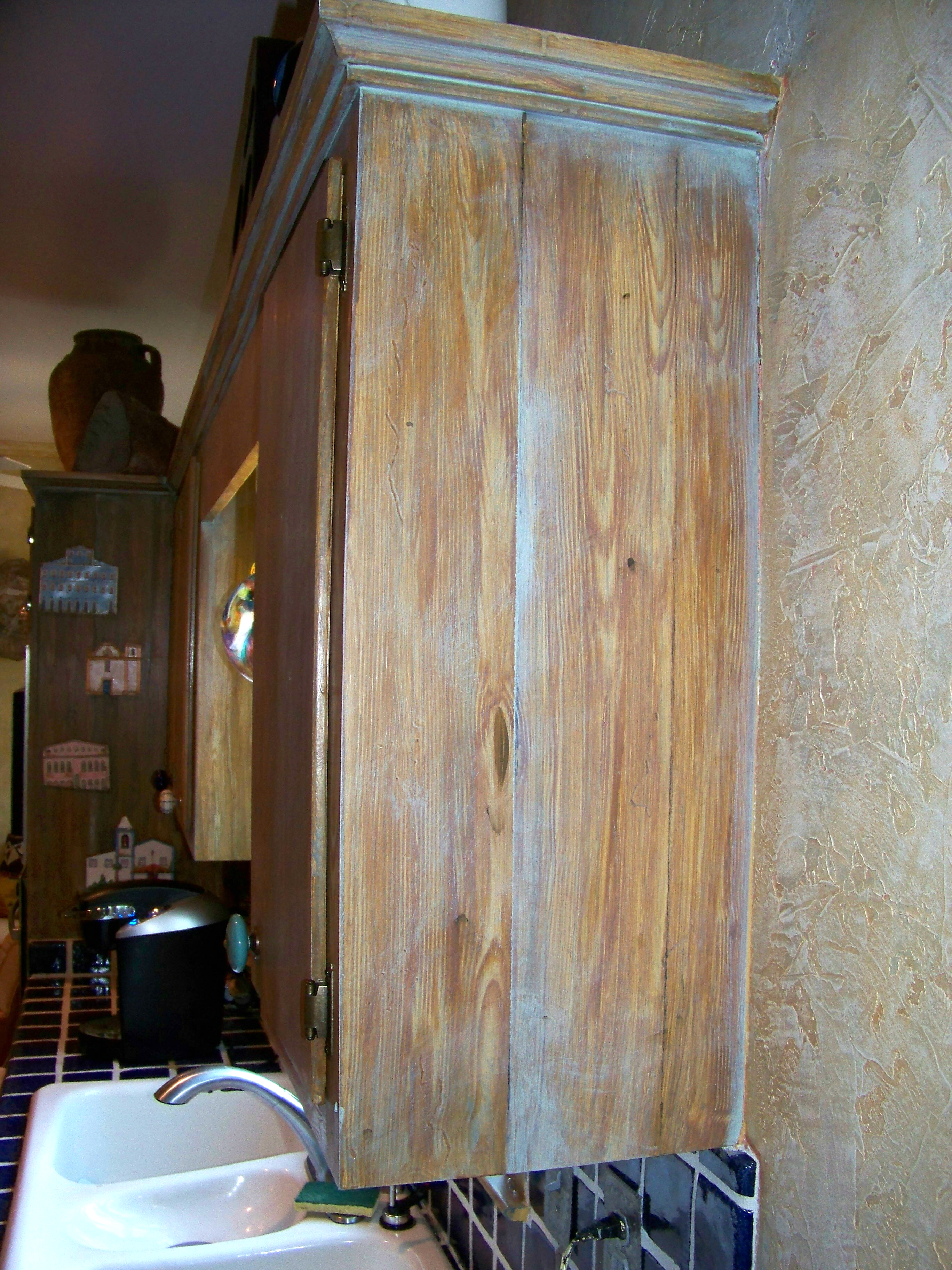 Faux Old Wood Southwest Theme