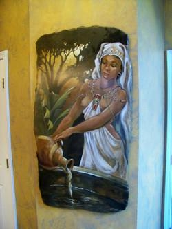 Exotic Bath Mural