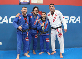 Atleta beltronense é vice-campeão brasileiro de Jiu-Jitsu