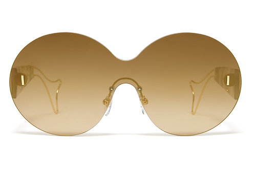 Philippe Chevallier Whale 05 PC 7003 440 - Yellow Gold/Olive