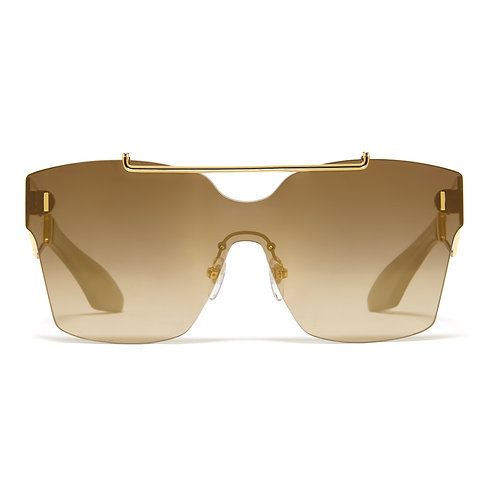 Philippe Chevallier Mask 06 PC 7002 494 - Yellow Gold/Olive