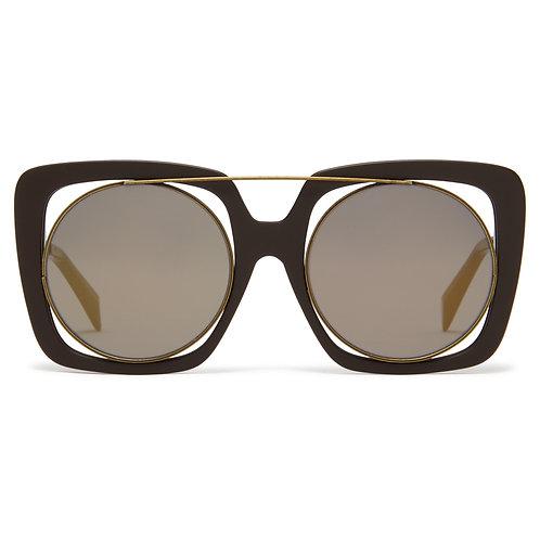 Yohji Yamamoto  YY 7009 115 - Brown
